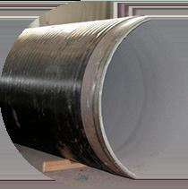 Изображение на изоляцию труб и соединительных деталей трубопроводов рулонными материалами