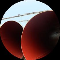 Изображение на внутреннее антикоррозионное покрытие соединительных деталей трубопроводов (СДТ)